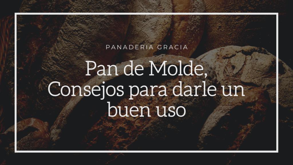 Pan de Molde, Consejos para darle un buen uso