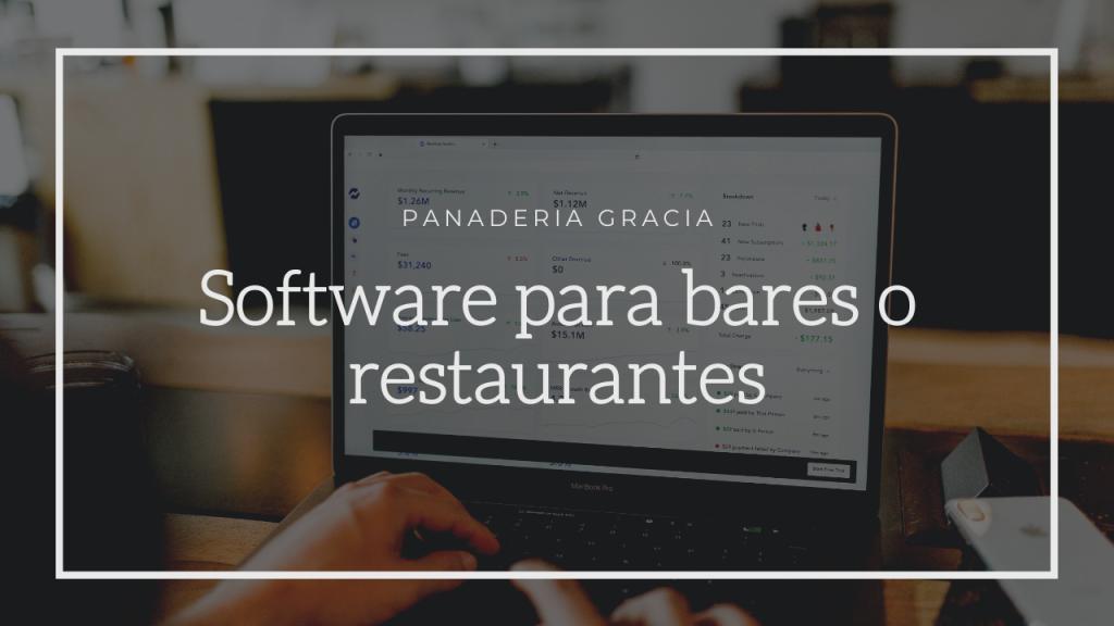 Mejores softwares para bares o restaurantes